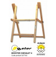 Booster chevalet bois 4 pieds 537765