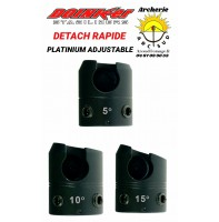 Doinker detach rapide platinium adjustable