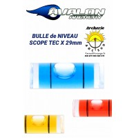Avalon bulle de niveau scope tec x 29 mm