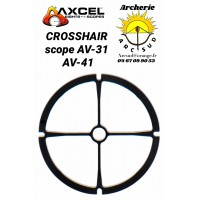 Axcel crosshair pour scope