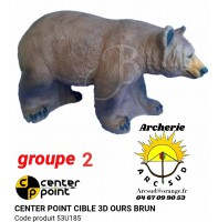 C point bête 3d ours brun 53u185