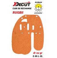 Decut rechange cuir palette rugbii (back-arriere)