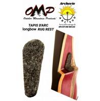 Omp tapis d'arc longbow rug rest
