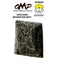 Omp tapis d'arc recurve rug rest