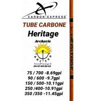 Carbon express tube carbon héritage