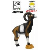 Srt bêtes 3D mufflon