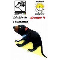 Srt bêtes 3D diable de Tasmanie
