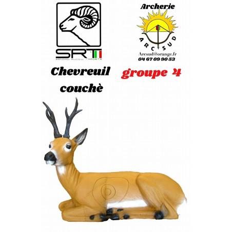 Srt bêtes 3D chevreuil couchè
