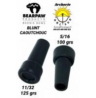 Bearpaw blunt caoutchouc