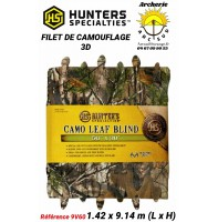 Hunter specialties filet de camouflage 3d ref 9v60