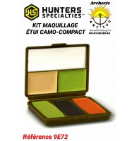 Hunter specialties kit maquillage etui camo compact ref 9e72