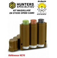 Hunter specialties kit maquillage sticks speed camo ref 9e70