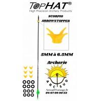 Tophat griffe scorpio arrowstopper (pack de 6)