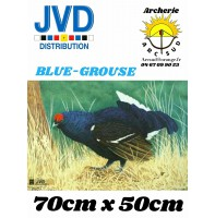 Jvd blason animal blue grousse