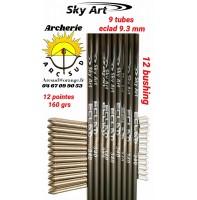 Sky art déstockage tubes eclad 340 (par 9)