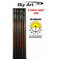 Sky art déstockage tubes rapid 500 (par 6)