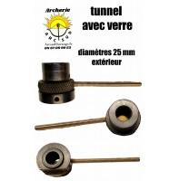 Tunnel avec verre diamètre 25 mm destokage