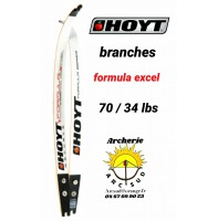 Hoyt branches formula excel 70/34 lbs
