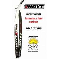 Hoyt branches formula xtour carbon 66/30 lbs