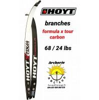 Hoyt branches formula xtour carbon 68/24 lbs