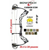 Bowtech arc à poulie carbon icon G2
