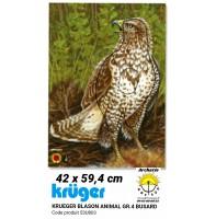 Kruger blason animal busard 53u803