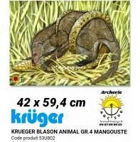 Kruger blason animal mangouste 53u802