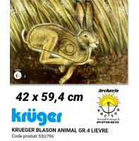 Kruger blason animal lièvre 53u796