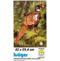 Kruger blason animal faisan 53u797