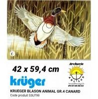 Kruger blason animal canard 53u799