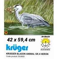 Kruger blason animal heron 53u800