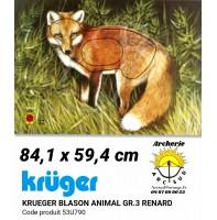 Kruger blason animal renard 53u790