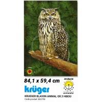 Kruger blason animal hibou 53u793