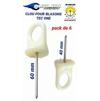 Avalon clou pour blasons tec one (pack de 6)