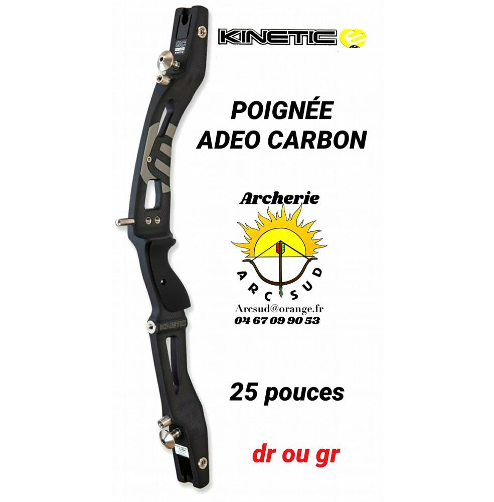 Kinetic poignée adeo carbon 25 pouces