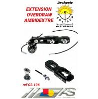 arc système extension overdraw ambidextre ref c2.106