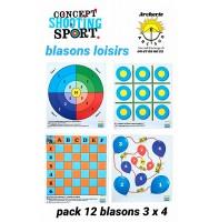 Concerpt shooting sport blasons loisirs (Park de 12)