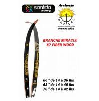 Sanlida branche miracle x7 fibre wood