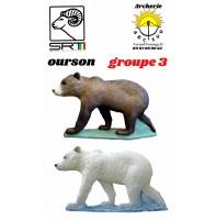 Srt bêtes 3D ourson