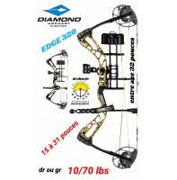 Diamond package arc a poulie Edge 320