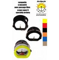 accessoire scope spécialty archery casquette à encastré avec passage fibre