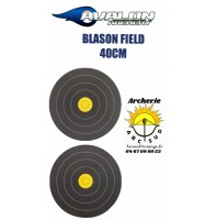 Avalon blason field 40 cm double