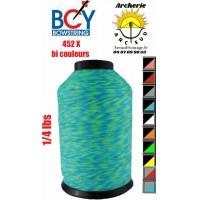 Bcy bobine 452 X  1/ 4 lbs  bi couleurs