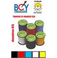 Bcy bobine tranche fil braided 350