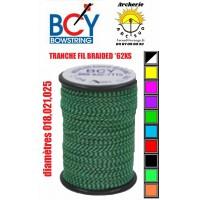 Bcy bobine tranche fil braided *62XS