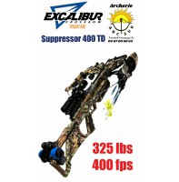 Excalibur arbalète suppressor 400 td
