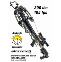 Skorpion arbalète xbc 420 camo avec accessoires 55M254
