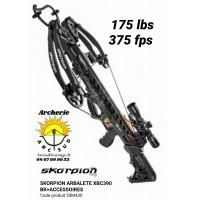 Skorpion arbalète xbc 390 noir avec accessoires 55M430
