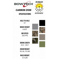 Bowtech arc à poulie carbon zion 2021