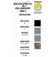 Bowtech arc à poulie eva shockey gen 2 (2021)